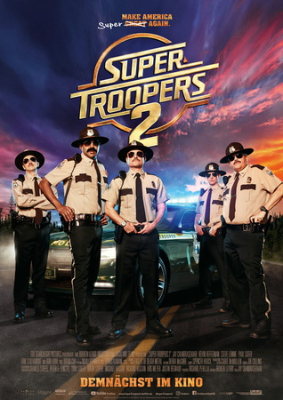 Filmplakat: Super Troopers 2