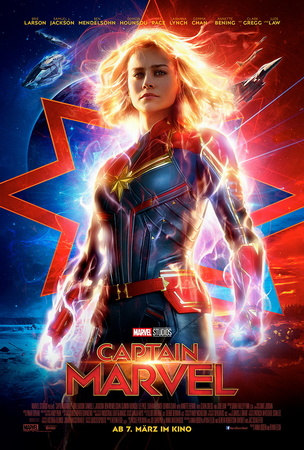 Filmplakat: Captain Marvel