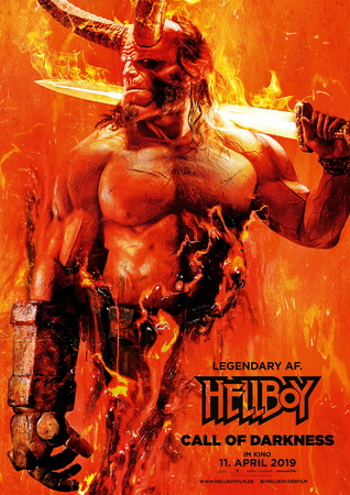 Filmplakat: Hellboy - Call of Darkness